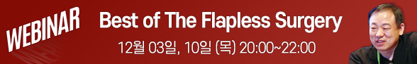 Flapless 웨비나